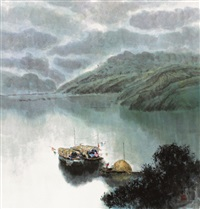渔家 by jiang zhenguo