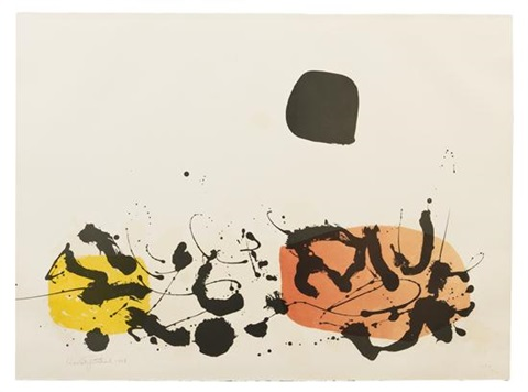 germination ii by adolph gottlieb