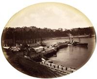 tenby harbour (c.s. allen's excelsior photo-studio) by charles smith allen