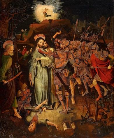 gefangennahme christi by austrian school-tyrolean (16)