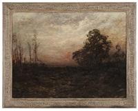 autumn sunset by edward b. gay