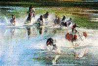 奔腾 (gallop) by jian qingfu