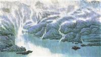 静夜听山泉 by jiang zhenguo