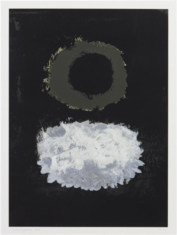 black field by adolph gottlieb