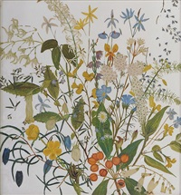 a botanical painting on glass by australian school (19)