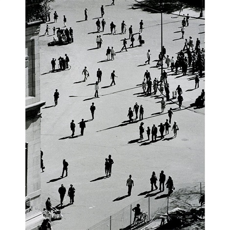 washington square by andré kertész