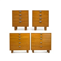 dressers and nightstands (4 works) by george nelson