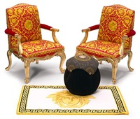 armchairs in the louis xv taste (pair) by gianni versace