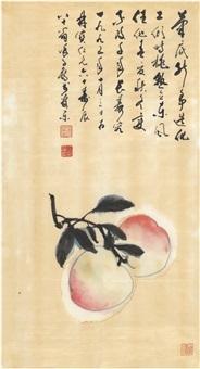 寿桃图 by xu zihe