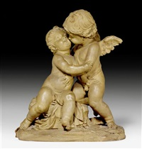 psyche und amor by claude augustin cayot