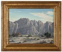 desert arroyo by joseph p. frey