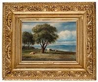 landskap med kor by mikhail konstantinovich klodt von jurgensburg