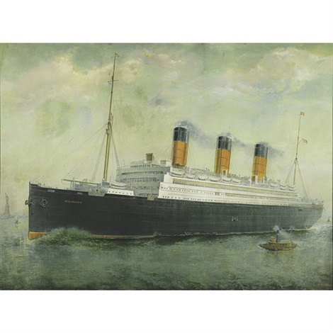 rms berengaria by walter follen bishop