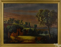 view of mt. vernon by william matthew prior