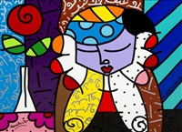 anastassia by romero britto