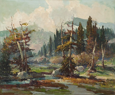 sierra landscape by jack wilkinson smith