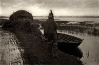 cutting scoff stuff (from life and landscape on the norfolk broads) by peter henry emerson