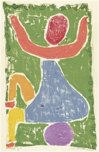 spielendes kind by paul klee