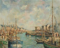 port en bessin by henri stenn