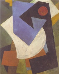 suprematistische abstraktion by alexander vesnin