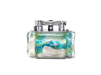 aquarium lighter by alfred dunhill