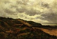 dunes à villerville by alexandre homo