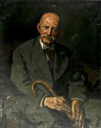 herrenportrait by leo von könig