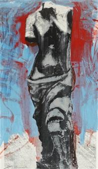 red, white, & blue venus by jim dine