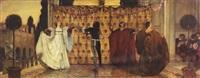 the dance of the troubadors by edwin austin abbey