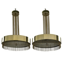 hanging fixtures (pair) by pierre cardin