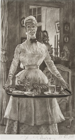 le matin il mattino by james jacques joseph tissot