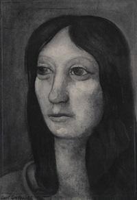 porträt einer dame by curt grosspietsch