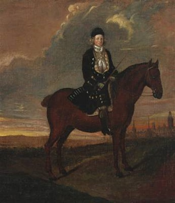 young preussian nobleman near postdam by anton graff