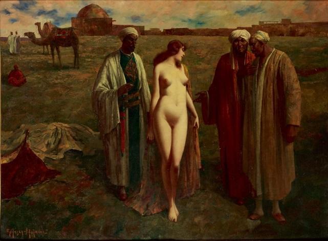 le marché aux esclaves by eduard ansen hofmann