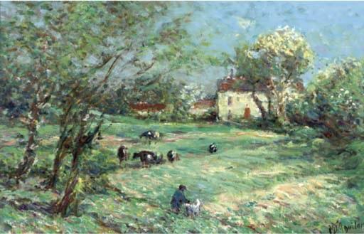 la ferme dans la vallée by michael d aguilar