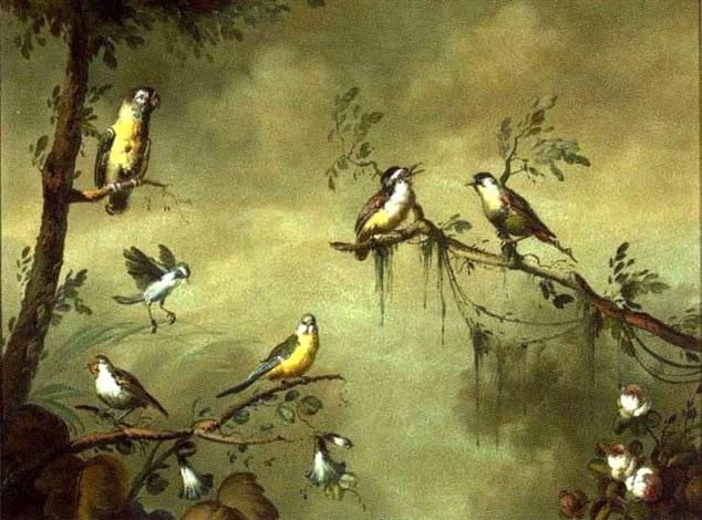 hummingbirds by ira monte