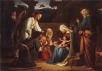 die anbetung der hirten by friedrich geselschap