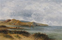 coastal scene by carl brennir