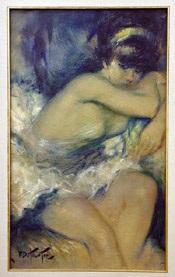 nu (nude) by pierre eugène duteurtre