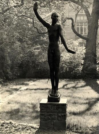 behnhaus garten bronze von georg kolbe by albert renger patzsch