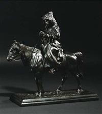 kosake zu pferd by artemi lavrentievich ober