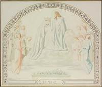 the coronation of the virgin by eugène emmanuel amaury-duval (pineu)