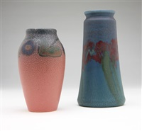 vases (2 works) by elizabeth lincoln