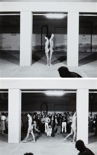 expension in space (set of 3) by ulay & marina abramovic