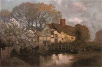 evening on the river by walter alfred firkins