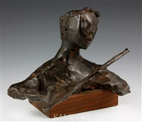 boy with flute by david aronson