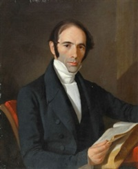 portrait of reverend herman norton by john trumbull