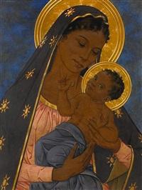 madonna mit christusknaben by werner peiner