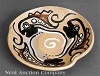 ashtray by shearwater pottery