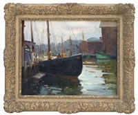 north shore harbor by anthony thieme